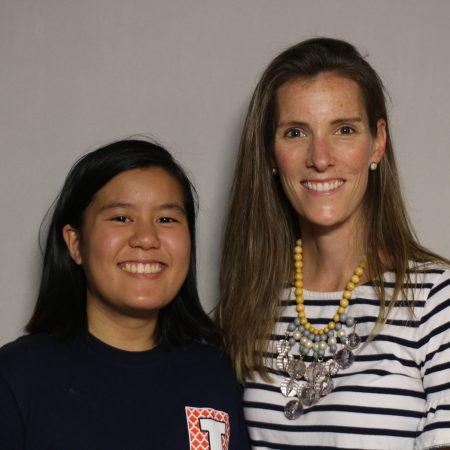 Haley Phillips and Diana Pham