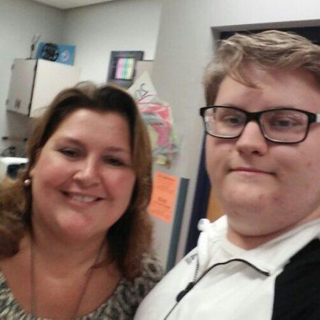 Interviewing former teacher