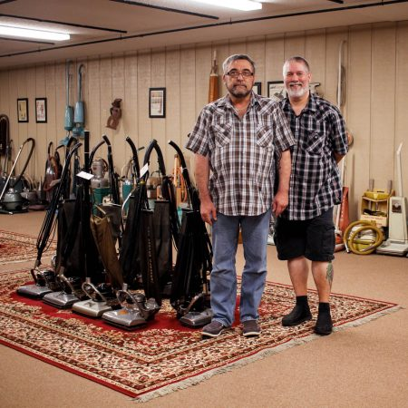 Swept Away: Falling for the Man with 600 Vacuums