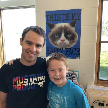 Dave Meuret and Josh- Middle School, Biplanes and Confusion