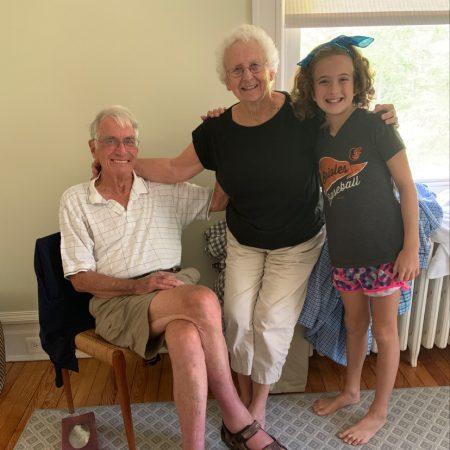 Anna Brown interviews her maternal grandparents, Tom and Ellen Ewens.