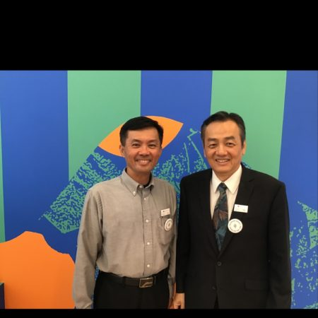 Sharing volunteer experiences for Asian American Senior Citizens Service Center (AASCSC)