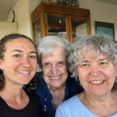 Three generations on growing up as a woman