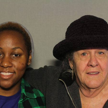 Martha Benzler and Courtney Gilbert