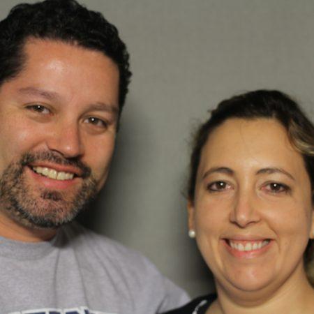 Victor Calderon and Araceli Rodriguez
