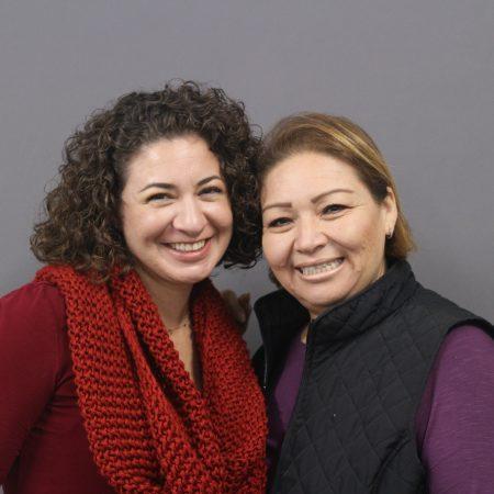 Lisa Cuestas and Nadia Morehouse