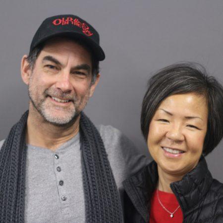 Tomoko Kuta and Perry Vasquez