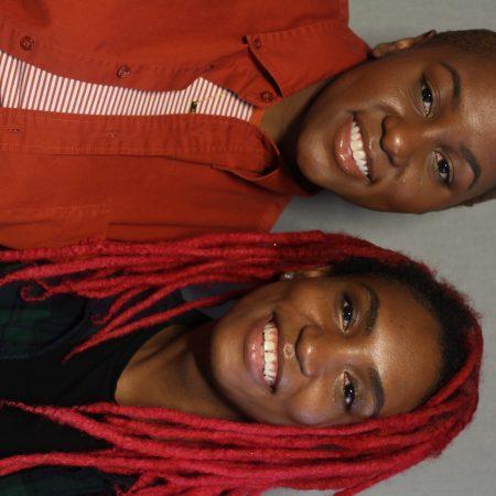 Katrina Watson and Courtney Gilbert