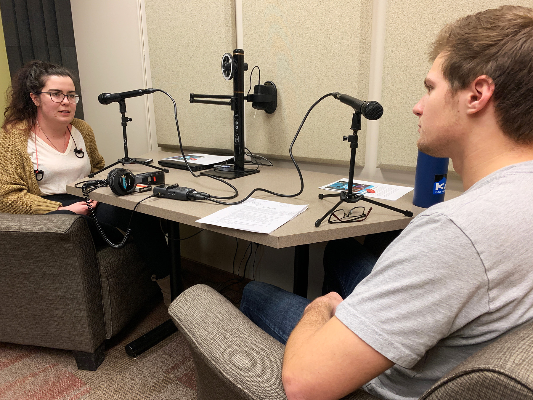 UM students Jack and Ashli talk about everything from prison reform to political stereotypes.