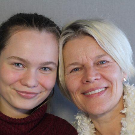 Anna Sommer and Gitte Sommer