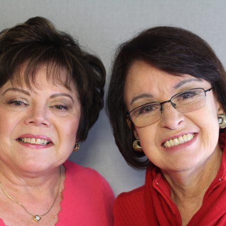 RosaMaría Henry and Patricia Gibson