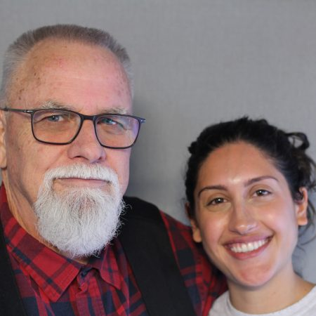 Ava Ahmadbeigi and Jeff Bowman