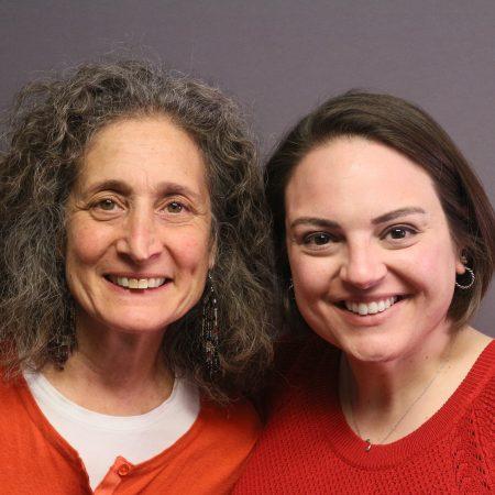 Luciana Herman and Lauren Rosenberg