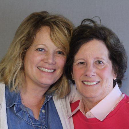 Kimberly Hauxhurst and Marian Veitch