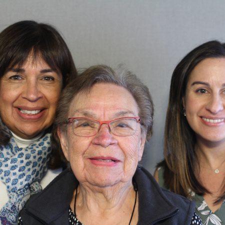 Hortense Pinedo, Debra Erven, and Danielle Seaberg