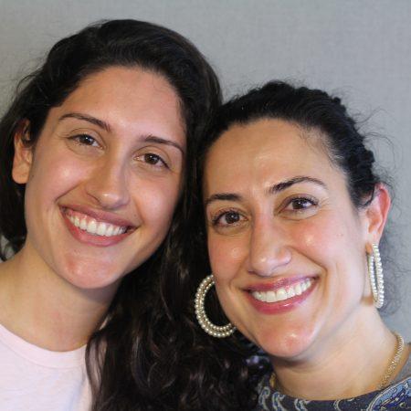 Shirin Assemi and Ava Ahmadbeigi