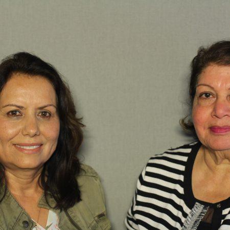 Guly Motameni and Nooria Hanifi