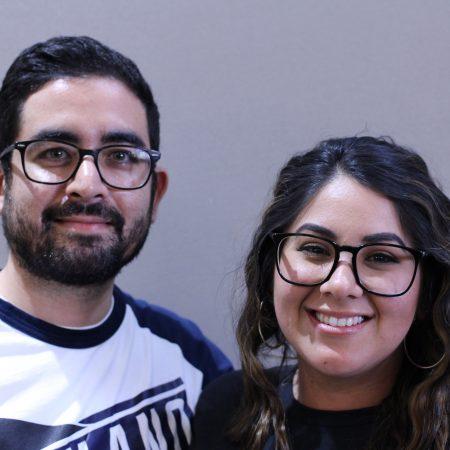 Eliana Banuelos and Mario Banuelos