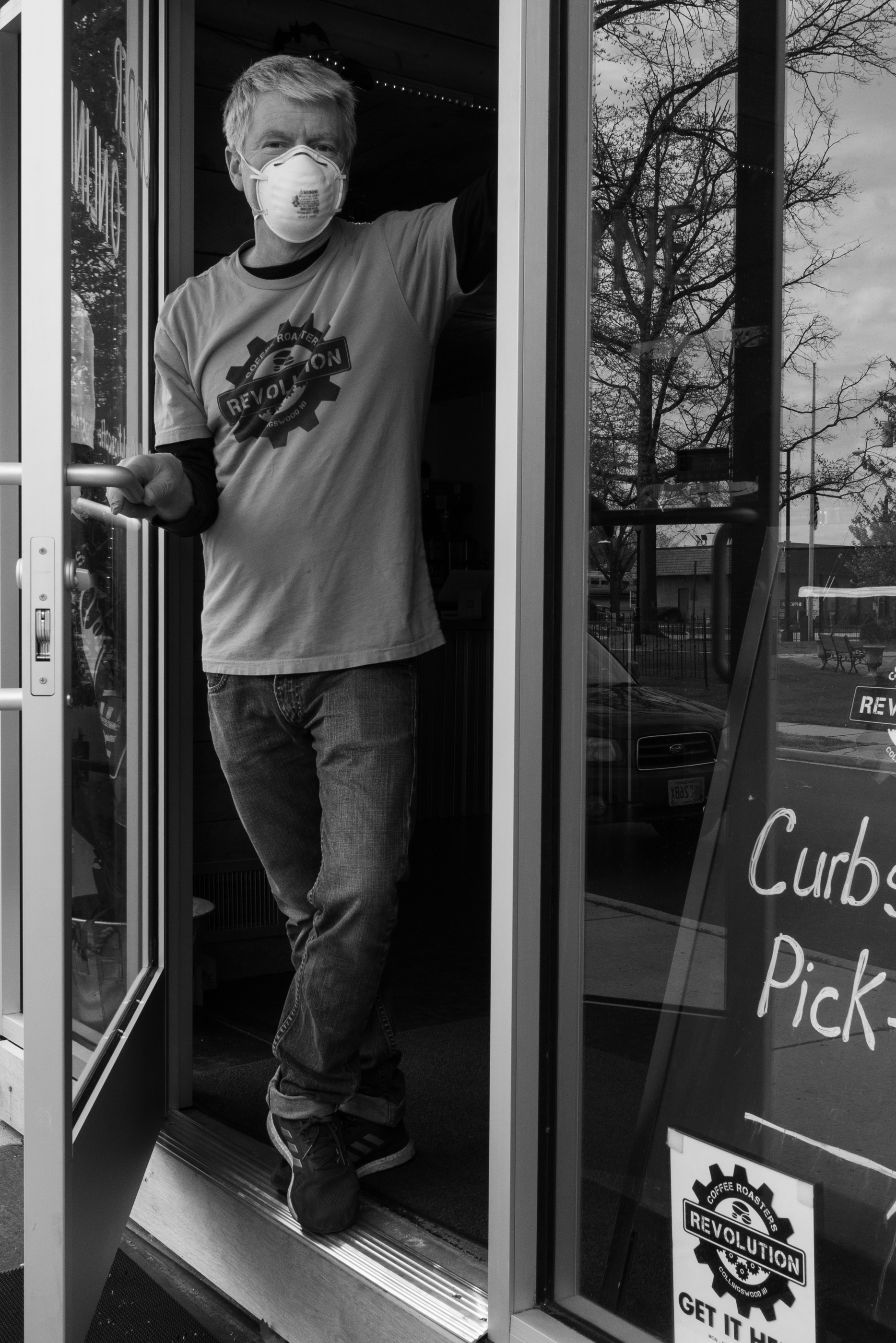 Covid-19: Steve McFadden of Revolution Coffee Roasters