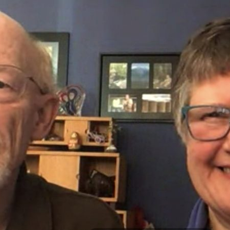 Cathy Barker and Dick Weaver