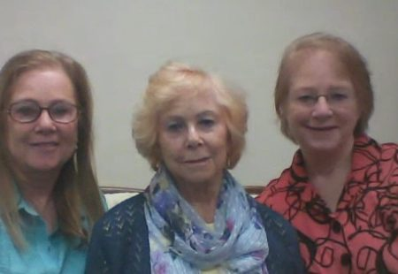 Kelly Ambrose Kelsey, Mattie Bartlett Ambrose, and Colleen Ambrose