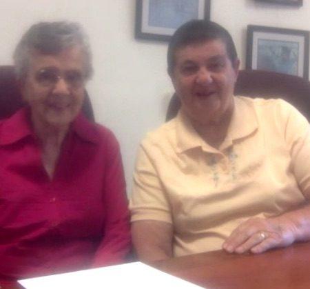 Sr Barbara Jean Glodowski and Mary Anne Glodowski