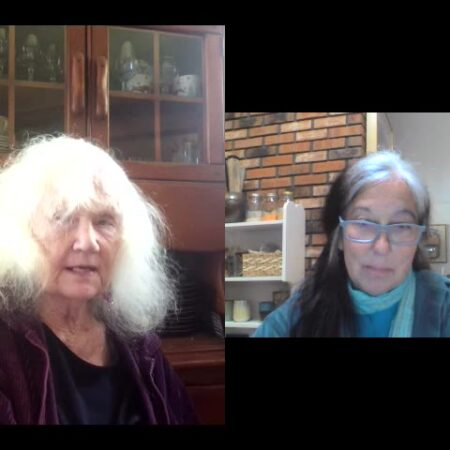 Jinny Savolainen and Portia Weiskel discuss the beauty of community in the throes of a pandemic.