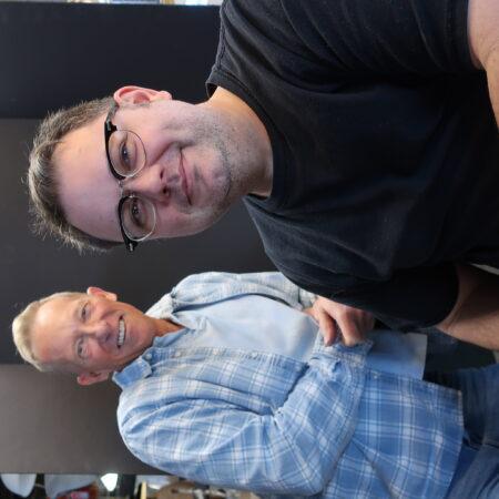 Steven Bohnet and Hank Borden