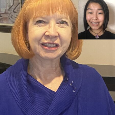 Janet Kaminsky and Eileen Hsu
