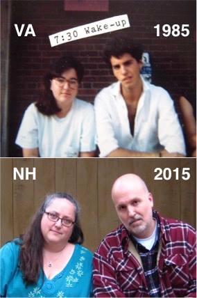 Liz Ahl ('83-'86) and Noah Stetzer ('84-'87), UVA Young Writers Workshop alumni