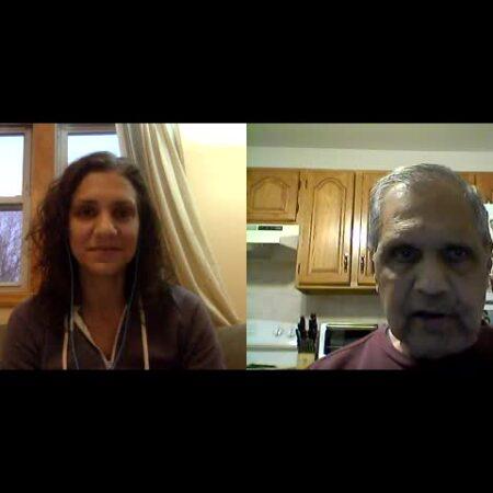 Romesh Daftary and Sarita Daftary-Steel
