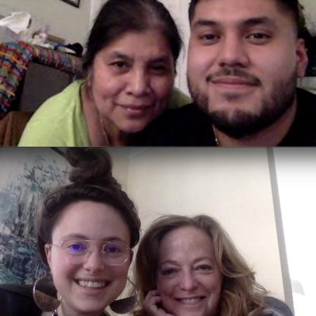 """Geronima Lopez, Marcos Monterroza, Marga Biller, and Mia """"M.R."""" Raquel"""