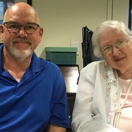 Betty Hockett and Steve Hockett