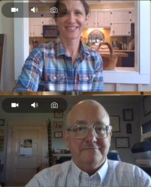 John Hutchinson and Kate Wofford