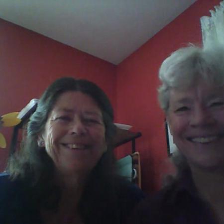 Carol DeHart and Pamela Cook