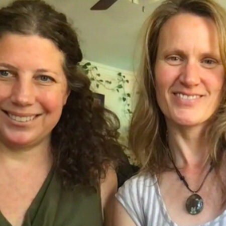 Amy Wurtz and Alyson Berger